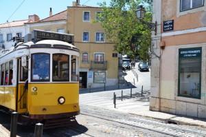 Straßenbahn Nr.28 in Lissabon